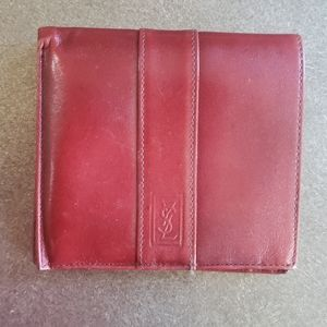 YSL Mens Leather Wallet